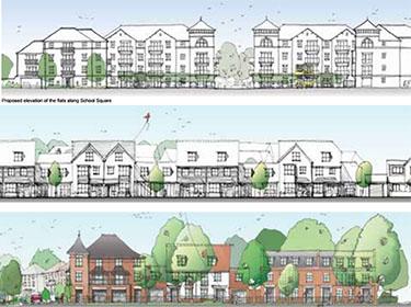 Rydens School & 296 Residential Dwellings