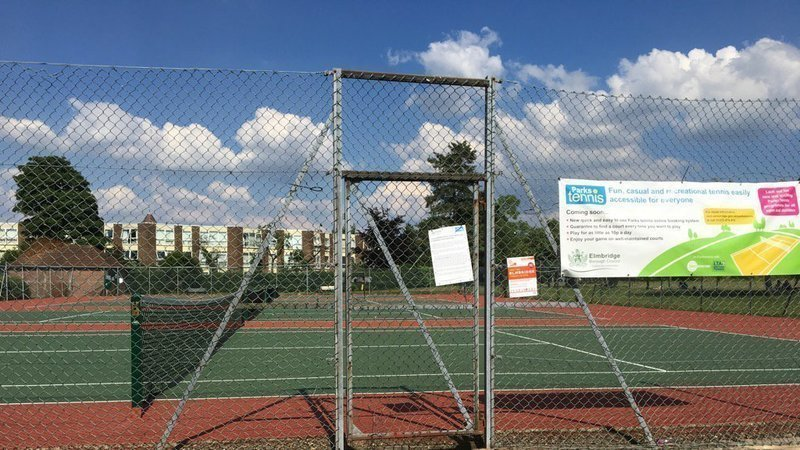 empty courts - Double Fault! - The Return Of The Hated Elmbridge Tennis Tax!
