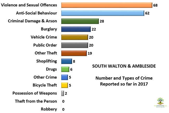 sth walton ambleside type of crime 2017x650 1 - Has Local Crime Increased Since The Streetlights In Elmbridge Went Out? We Have The Answer!