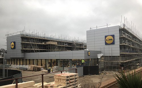 The Hersham Lidl store!