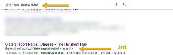 netball esher 600 - Work With The Hersham Hub