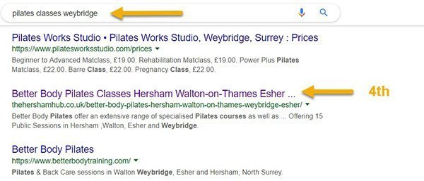 pilates weybridge 600 - Work With The Hersham Hub
