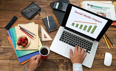 social media impact - Work With The Hersham Hub
