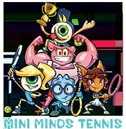 mini minds logo - Mini Minds Tennis - Education and Fun Tennis Classes for Children in Weybridge, Esher & Cobham