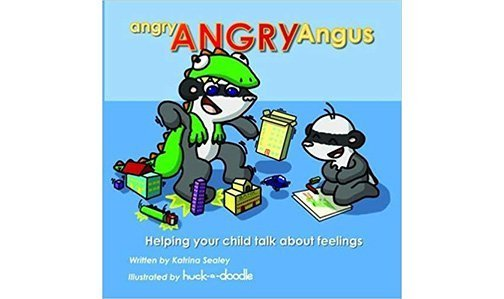 Angry ANGRY Angus by Surrey School Nurse Kat Sealey