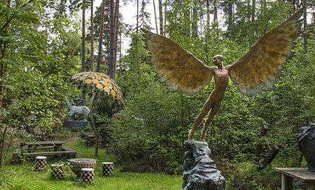 The Sculpture Park 450 - The National Garden Scheme - Find An Open Garden In Surrey