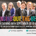 Three Rivers Academy Open Evening 26th September