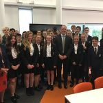 Dominic Raab, MP tackles hot topics at Three Rivers Academy