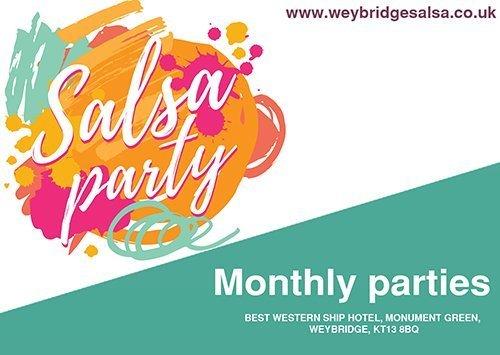 salsa party 500 - Weybridge Salsa - Salsa Classes - Monthly Salsa Parties