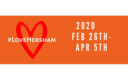 Love Hersham February 26th to April 5th